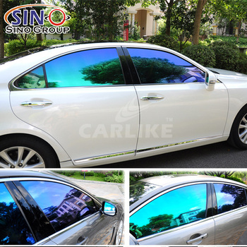 Sino car sticker hot selling smart chameleon car window tint film
