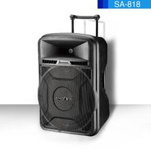 Home theater 18inch portable retro speaker