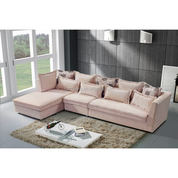 Down Filled Bedroom Furniture Sectional Corner Sofa Set