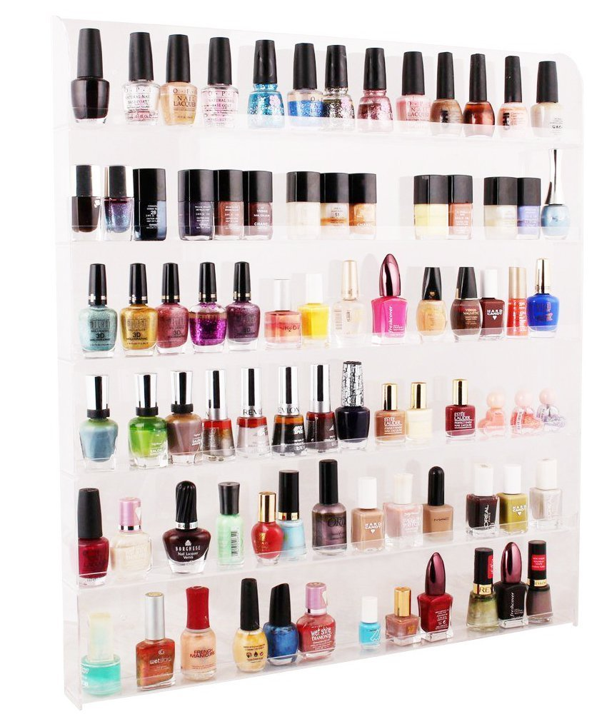 Cheap Acrylic Wall Nail Polish Rack, find Acrylic Wall Nail Polish ...