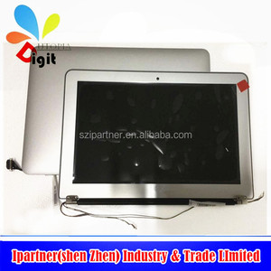 "NEW For Apple Macbook Air A1370 Complete LED LCD Screen Display Assembly 11.6"" + lcd hinges cable"