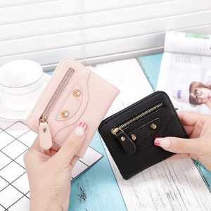 new product ideas 2018 Small pocket wallets for girl leather lady wallets/women mini wallet latest girls,carteras y bolsos