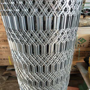 2019 4x8 sheet galvanized expanded metal mesh fence for trailer flooring