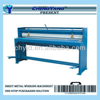 Light Foot Pedal Metal Plate Shearing Machine