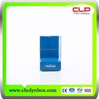light color printing clear plastic U plate packaging box wholesale
