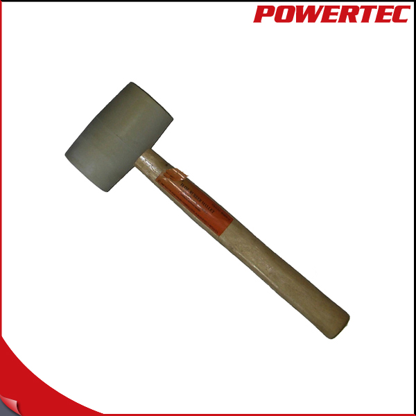 POWERTEC Combined Dead Blow Rubber Hammer