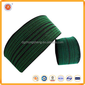 Eco-Friendly Wholesale elastic upholstery webbing furniture seat chair tape