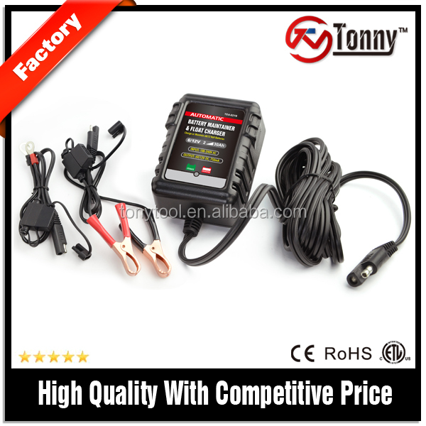 6v 12v 0.75A car battery maintainer waterproof