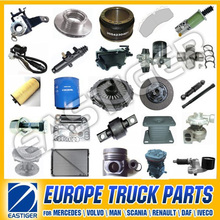 Over 1200 items MERCEDE/SCANIA/RENAULT/VOLVO heavy duty truck parts spare