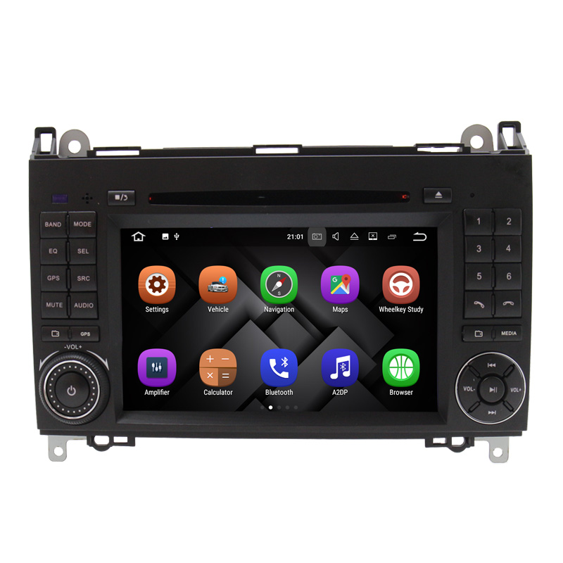 manufacture for Mercedes Ben z A/B class w169 w245 Viano/Vito Sprinter android 7.1 car audio gps system for mercedes b200