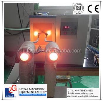 15kw IGBT Medium Frequency Induction Heating Machine for steel bar/iron rod
