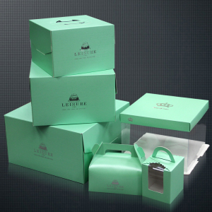 Young Living Rectangle Cupcake Box Paper Cake Box Import From China Factory In EECA