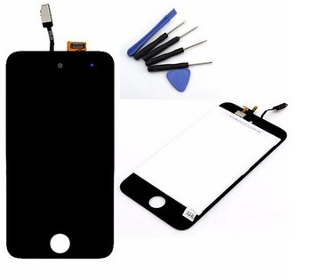 lcd Digitizer Touch Screen LCD Display Pre-assembly For iPod Touch 4th Gen
