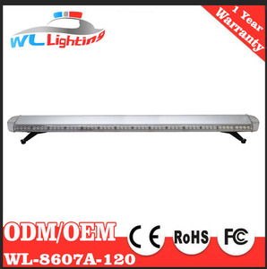 "wllighting 12v/24v Amber 160cm 63"" 120w emergency beacon Full Size Tow Truck and Security Roof Top Emergency Light bar"