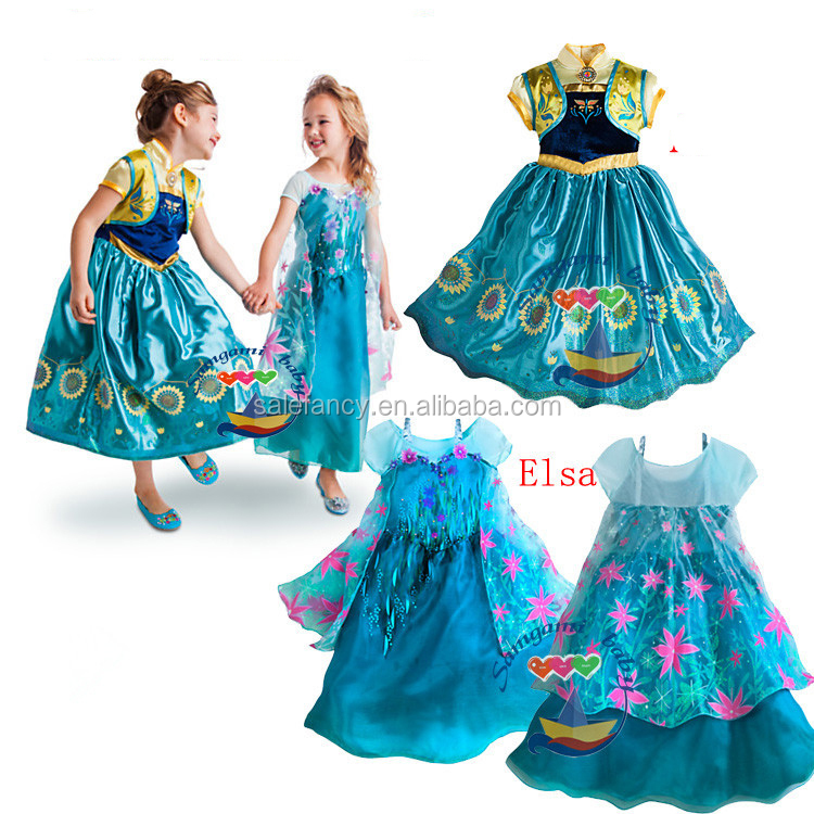 68302f7adba quinceanera dresses little girls frozen princess elsa costume QKC-2609