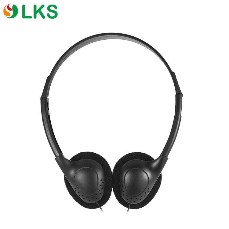 China new fashion 180 degree rotation earcups disposable headphone with soft ear cushions