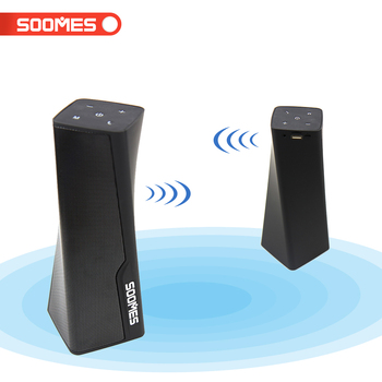 Tower shape multimedia home theater speaker system