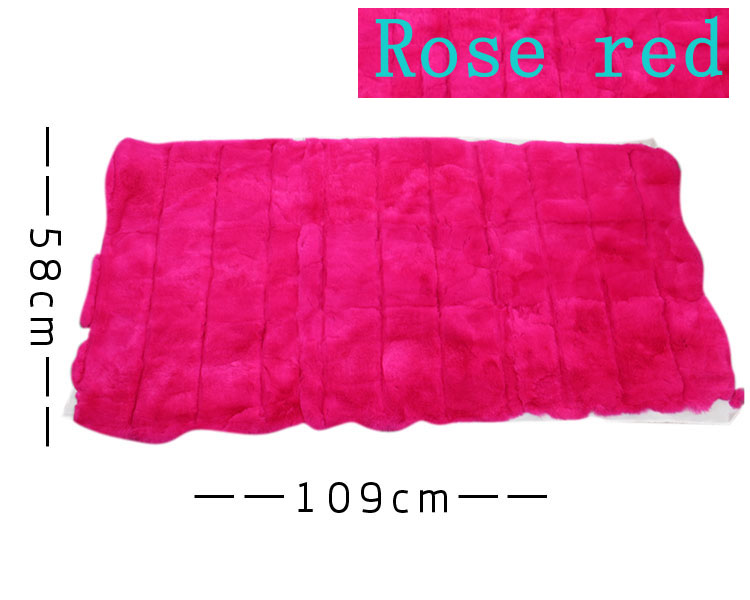 Wholesale fur raw materials rabbit fur raw materials