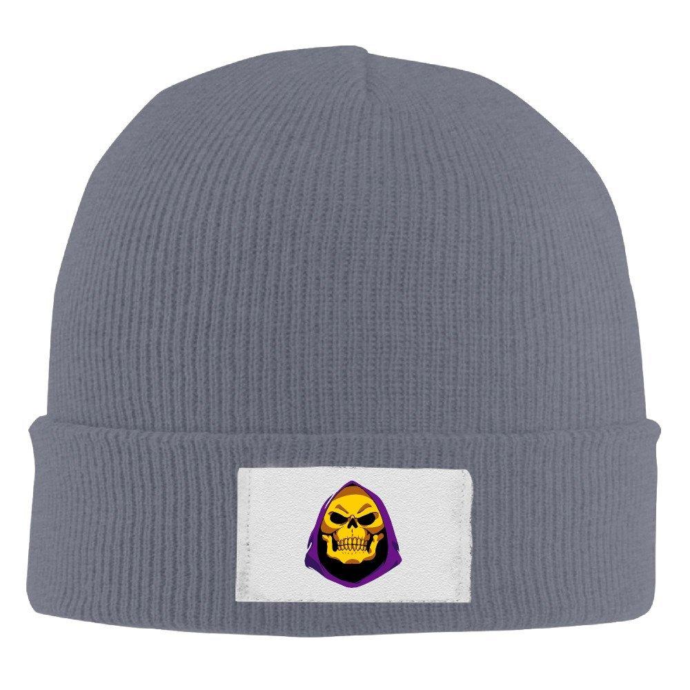 873b4cefedf02 Get Quotations · GAVI LOL Skeletor Fashion Wool Watch Cap Navy