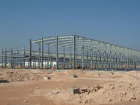 steel structure building of chemical plant