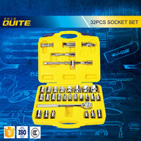 32PCS Multi professional automotive hand tools wrench and socket set