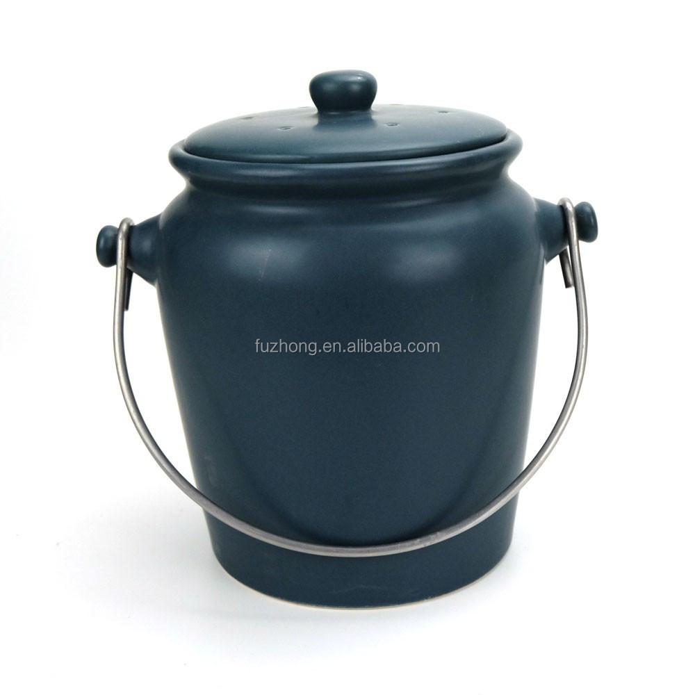 Finden Sie Hohe Qualität Keramik Kompost Eimer Hersteller und ...