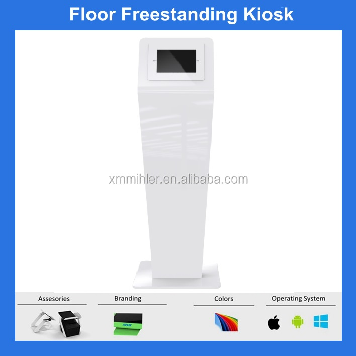 Anti-theft Freestanding Tablet Kiosk Ipad pro stand