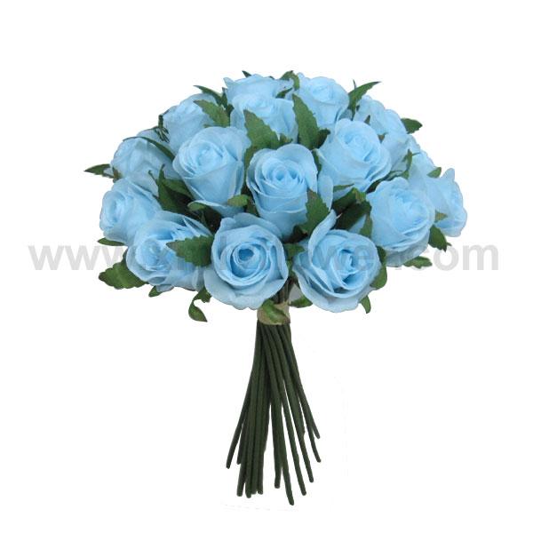 Mariage fleur bleue bouquet de roses fleurs guirlande de for Prix de bouquet de fleurs