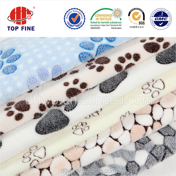 Diffe Types Of C Fleece Baby Blanket Bed Sheet Fabric