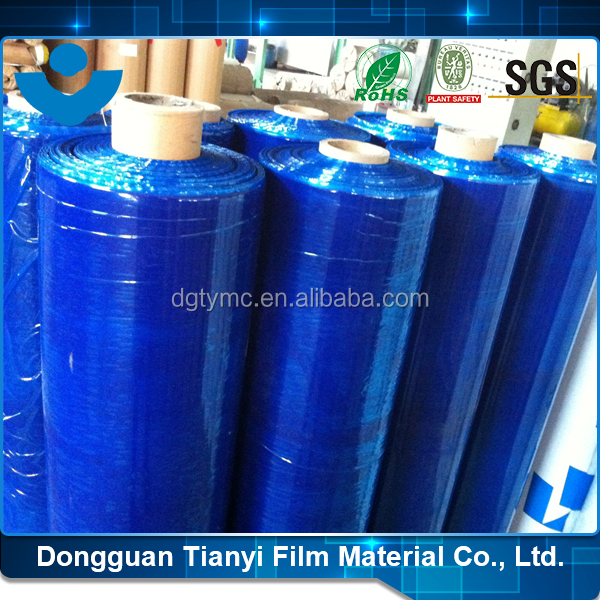 PE Anti Scratch Adhesive Film Blue Korea