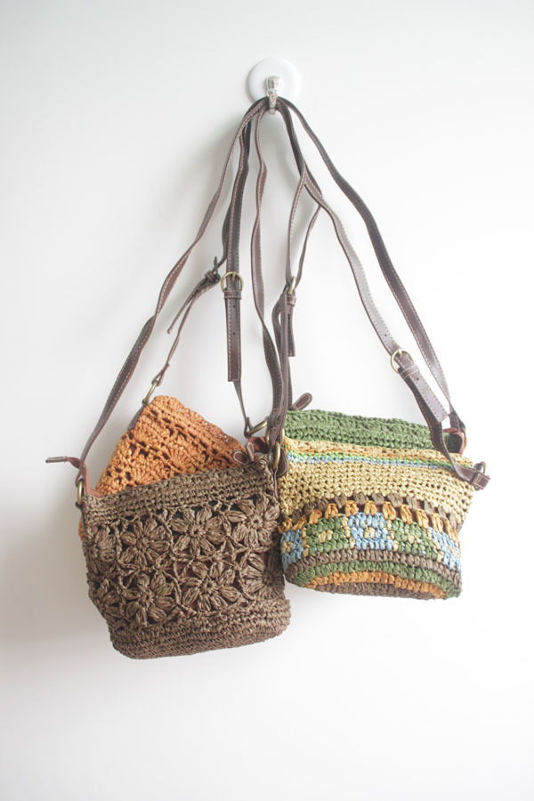 Summer women handbags hollow-out Knitted multicolour straw bags summer bohemia vintage small bag holidays beach shoulder bag