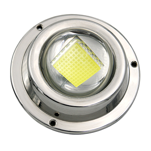 super bright 100w Stainless Steel Navigation Light Boat Marine LED Transom Mount LED underwater pool light