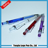 Top quality and fast delivery logo pen custom logo,plastic ballpoint pen with logo