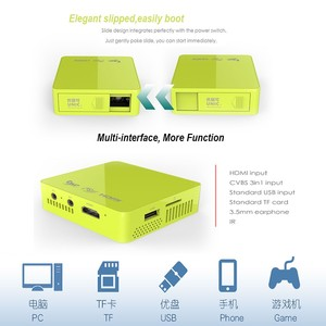 Cheapest in the World Wholesale DLP Projector Professional Design for Mobile Phone Tablet PC Smart Phone Pocket DLP Projector