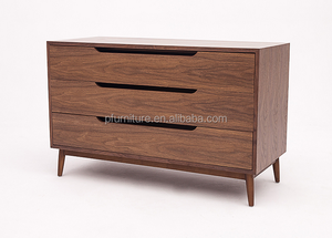 Nordic black Walnut cover cabinet sideboard