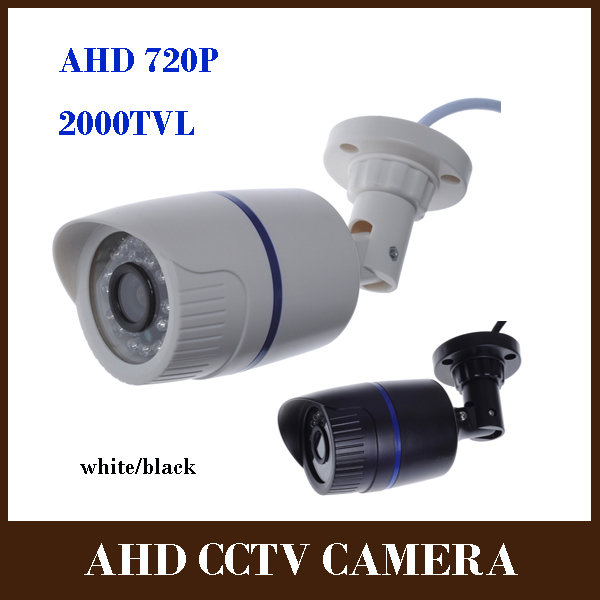 CCTV Waterproof Outdoor Camera 1/4'' CMOS OV9712 Sensor 2000TVL 1.0MP 720P Bullet AHD Camera CCTV Security Surveillance IR Cut