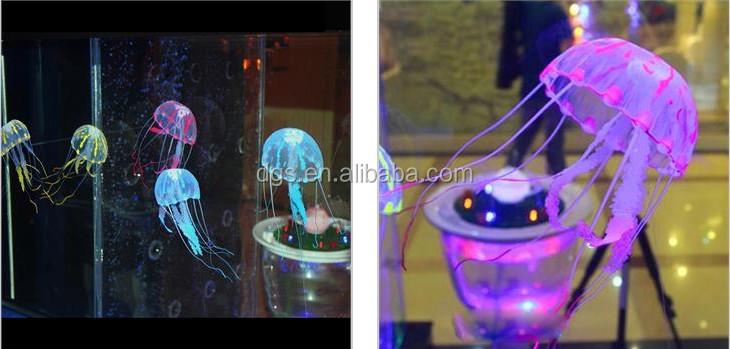 Led Jellyfish Fish Aquarium Decoration Fish Jar Decoration Cheap ...