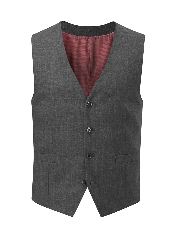 SKOPES Wool Rich Darwin Charcoal Waist Coat in Size 36 to 62