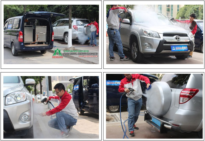 mobile steam car wash machine by van buy mobile steam. Black Bedroom Furniture Sets. Home Design Ideas