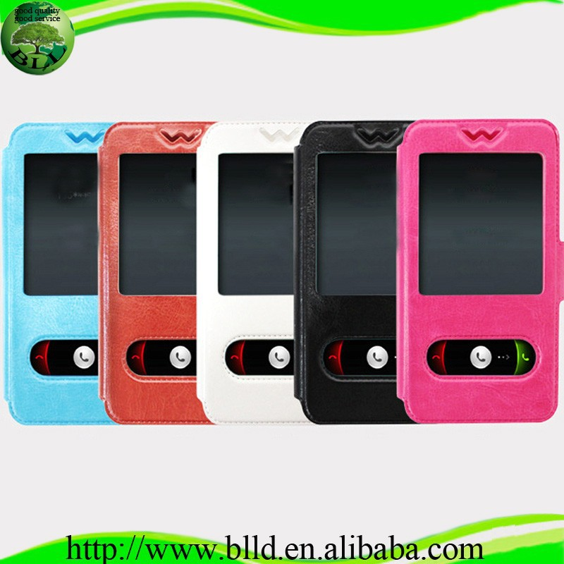 "With stand 4 sizes universal case for smartphone,leather universal flip phone case for 3.8""-5.8"" phone"