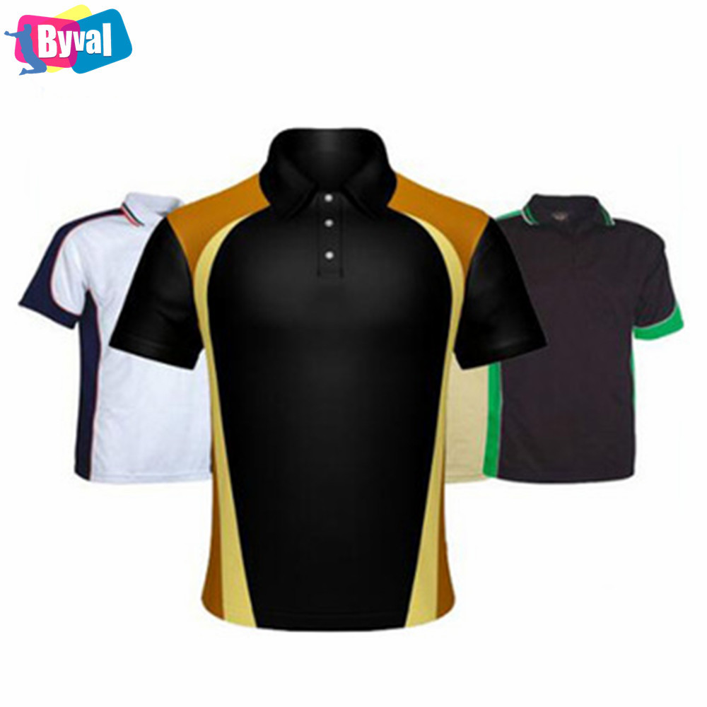Classic Polo T Shirt Design 100 Polyester Pique Mesh Dry Fit Golf