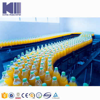 Hot Fill Lines Solution for Juice with Pulp PET 200-2000ml Bottle