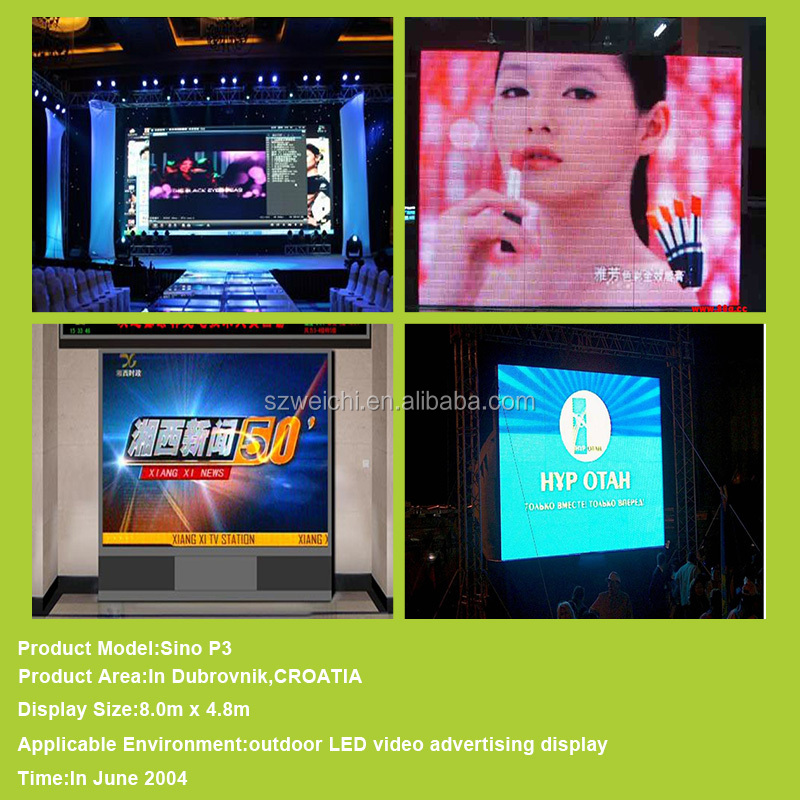 full color video display advertising banner outdoor usage besd indoor led sign