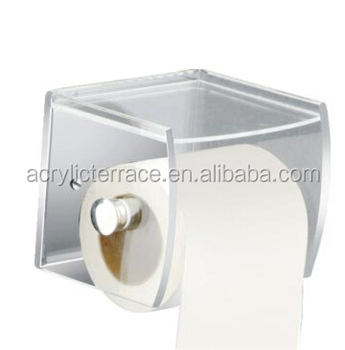 acrylic wall mounted paper towel holder kitchen fashionably hold towel holder ha1403093009 buy. Black Bedroom Furniture Sets. Home Design Ideas