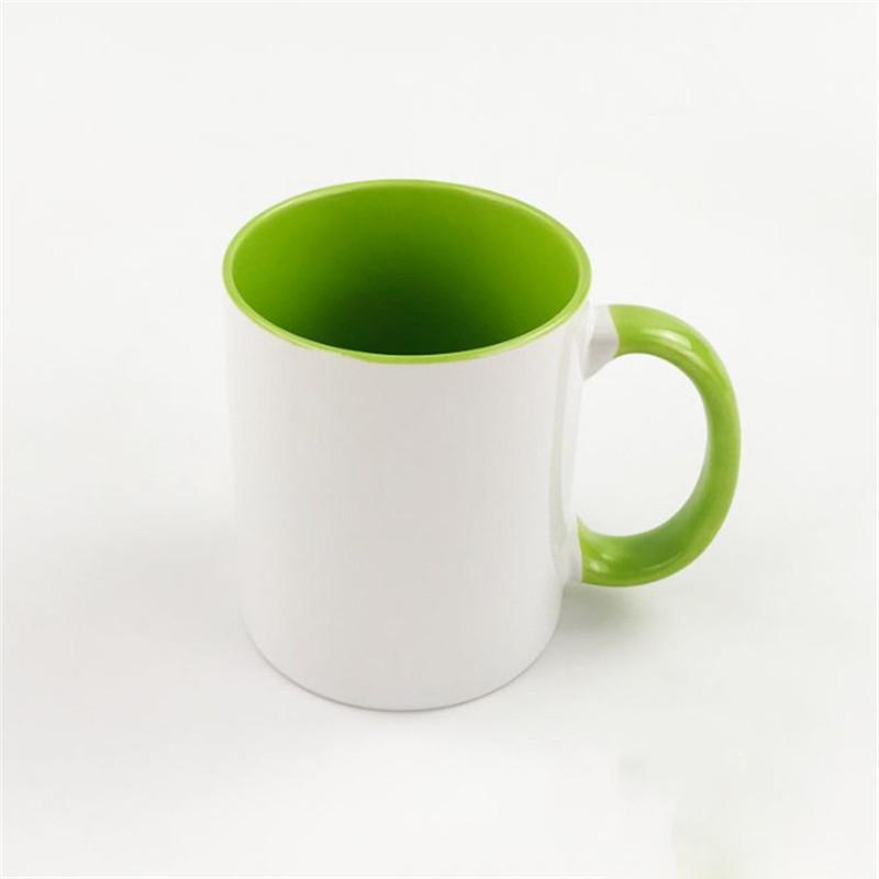 Oempromo 11oz Color Inside Ceramic Mug With Custom Printing