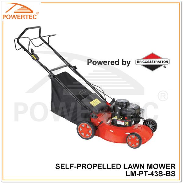 powertec b s 450 series 148cc self propelled lawn. Black Bedroom Furniture Sets. Home Design Ideas