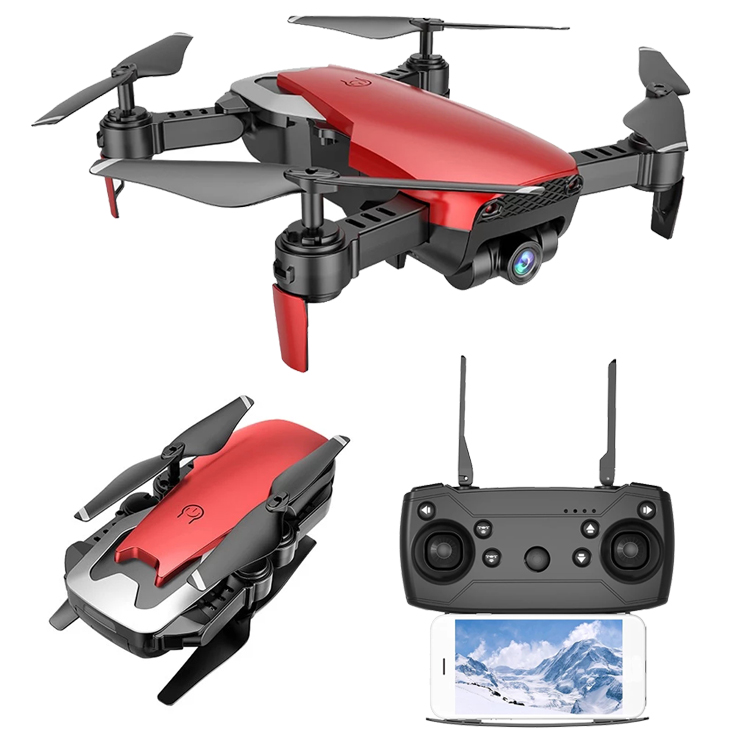 Radio Control Toy with  4K Wifi Camera and optical flow position Quadcopter Drone SJY-Q1