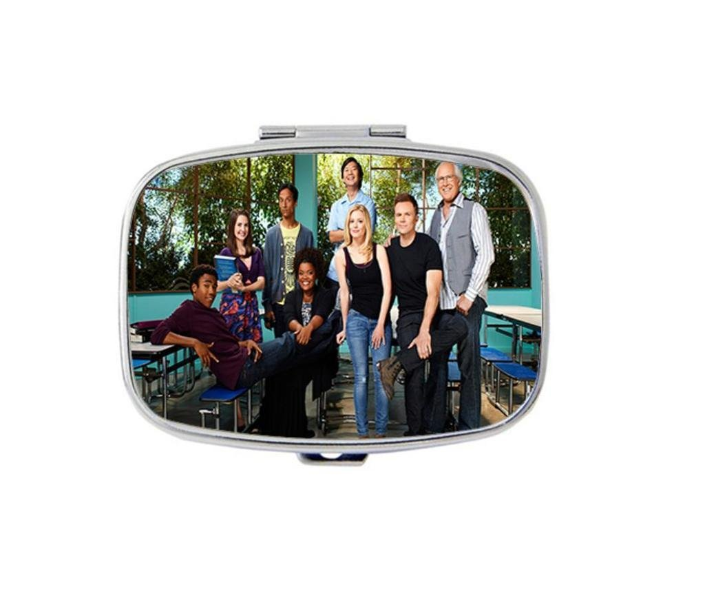 Carvin Design Community Custom Personality Square Medicine Pill Vitamin Box Case Storage Dispenser Organizer Holder