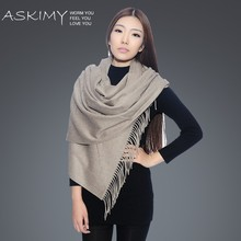 High quality new design 100% cashmere scarf