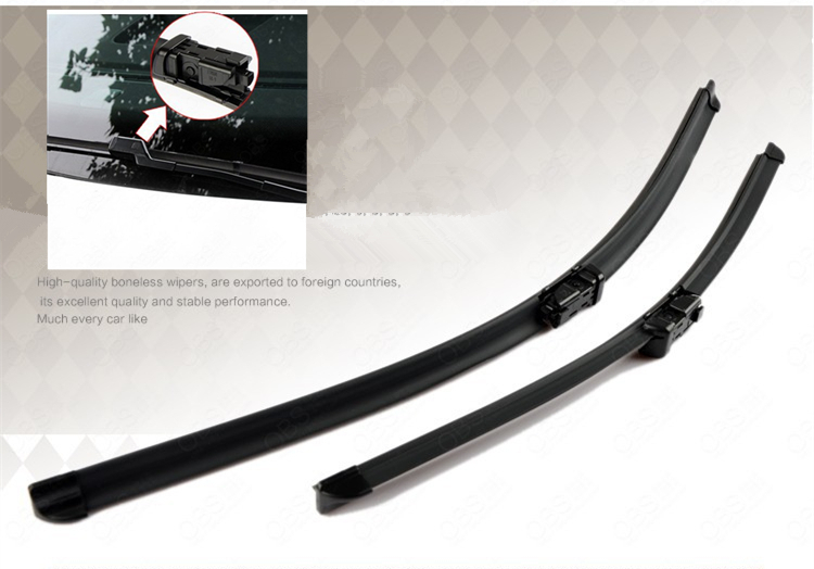 "24""+21"" Soft Quality Rubber Windscreen Wipers Windshield Wiper Blade For Land Rover Range Rover Evoque 2011 2012 2013 2014"